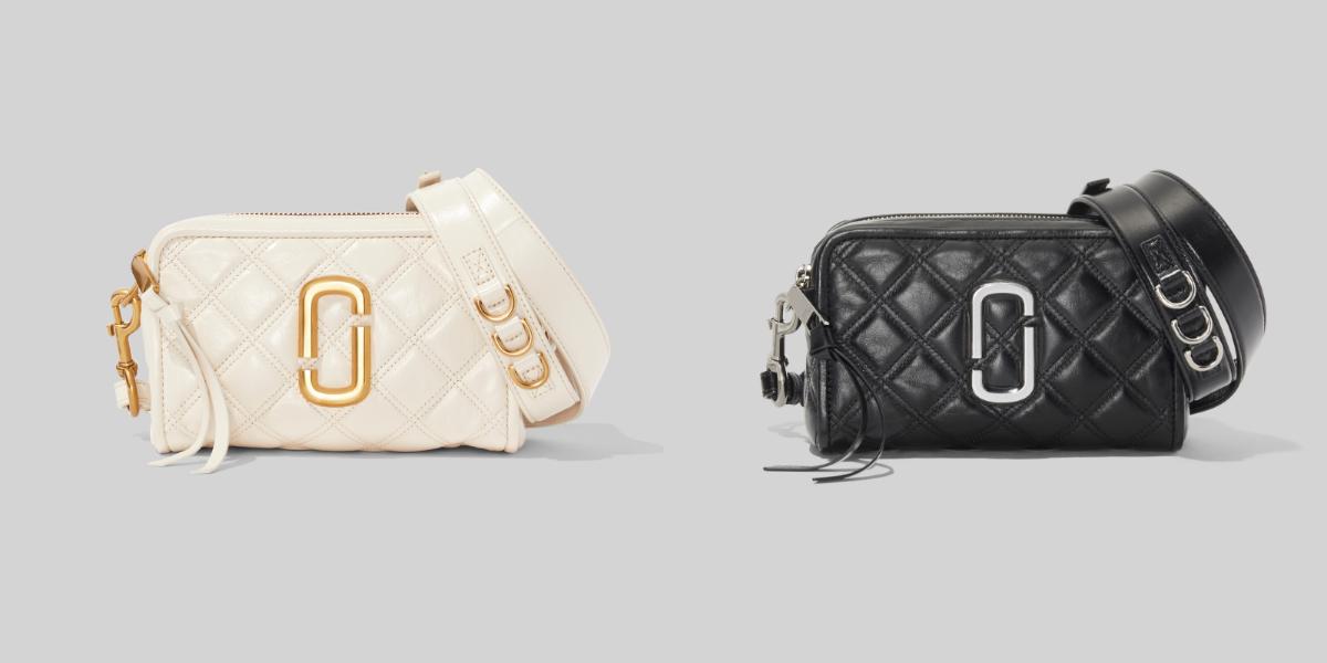 Marc Jacobs 這款「復古餐盒包」太燒!安心亞、王淨都搶揹,黑白撞色不僅百搭還超耐裝-4
